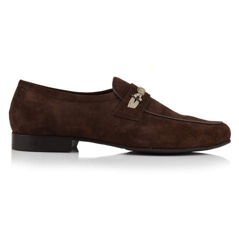 LM451 - Language Muffle Men's Dress Brown Loafers