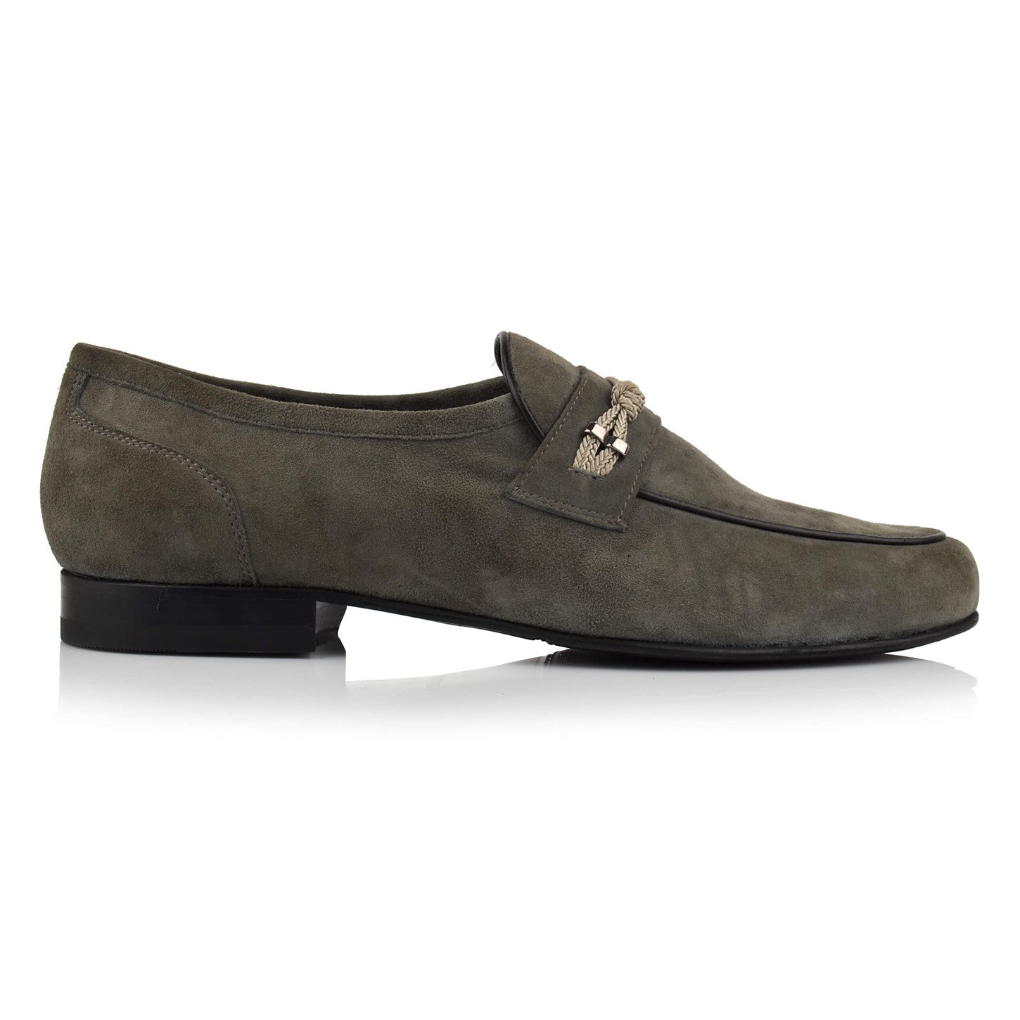 LM451 - Language Muffle Men's Dress Grey Loafers