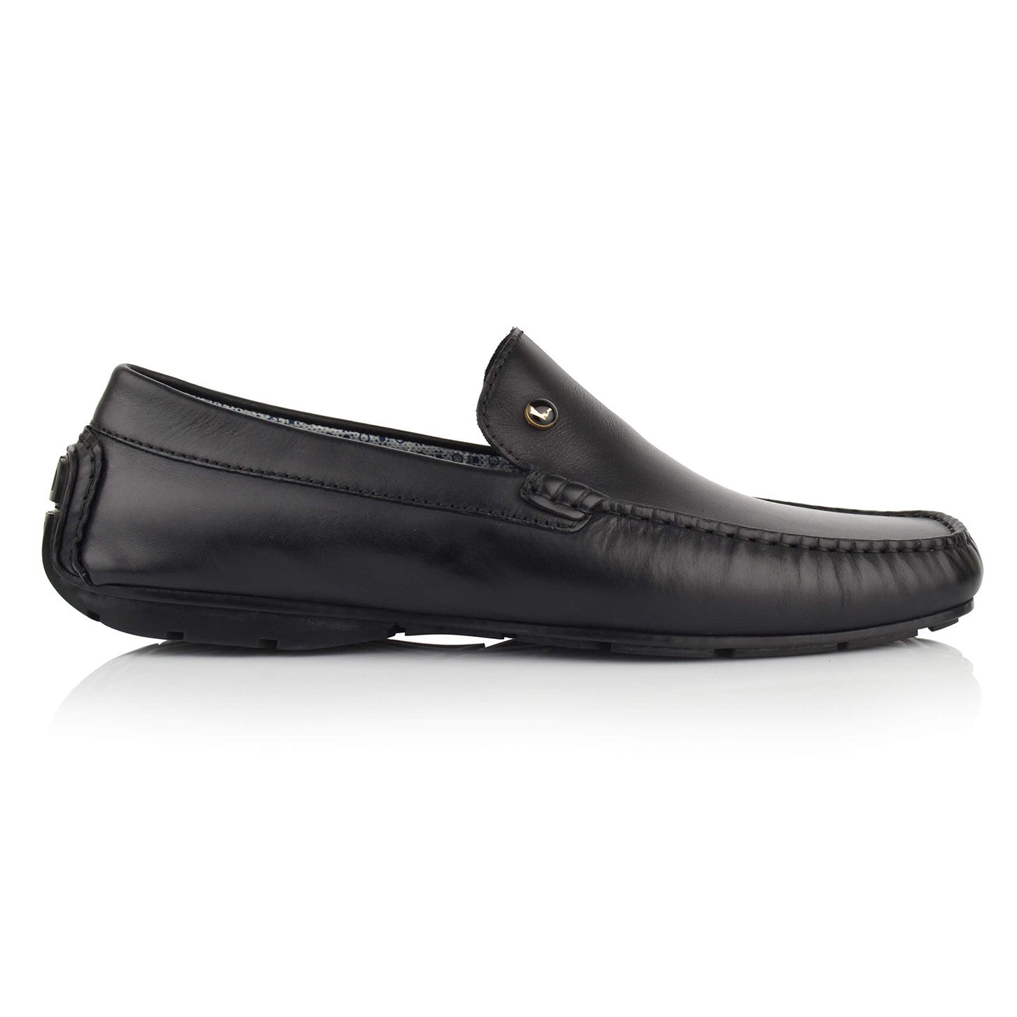 LM500 - Language Aecadian Men's Casual Black Drivers