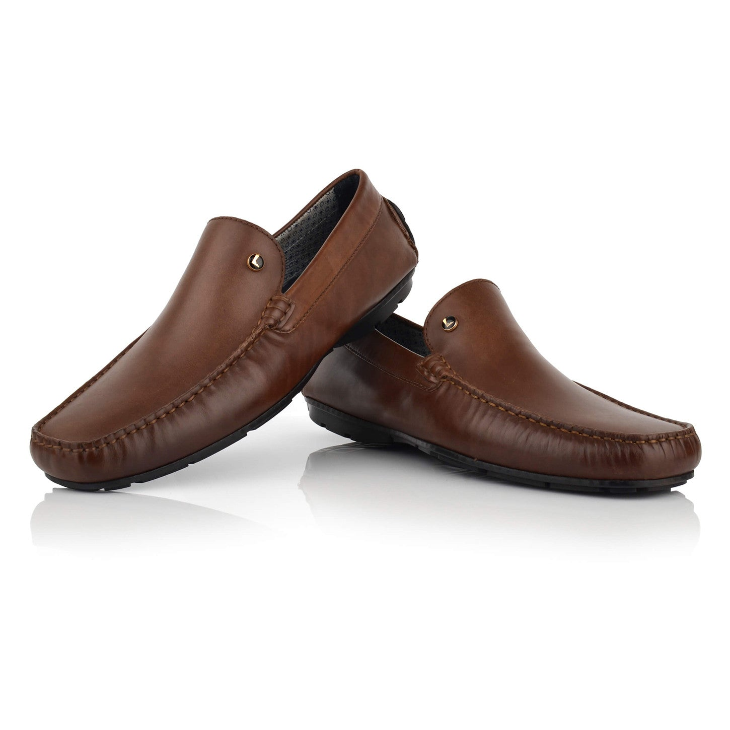 LM500 - Language Aecadian Men's Casual Tan Drivers
