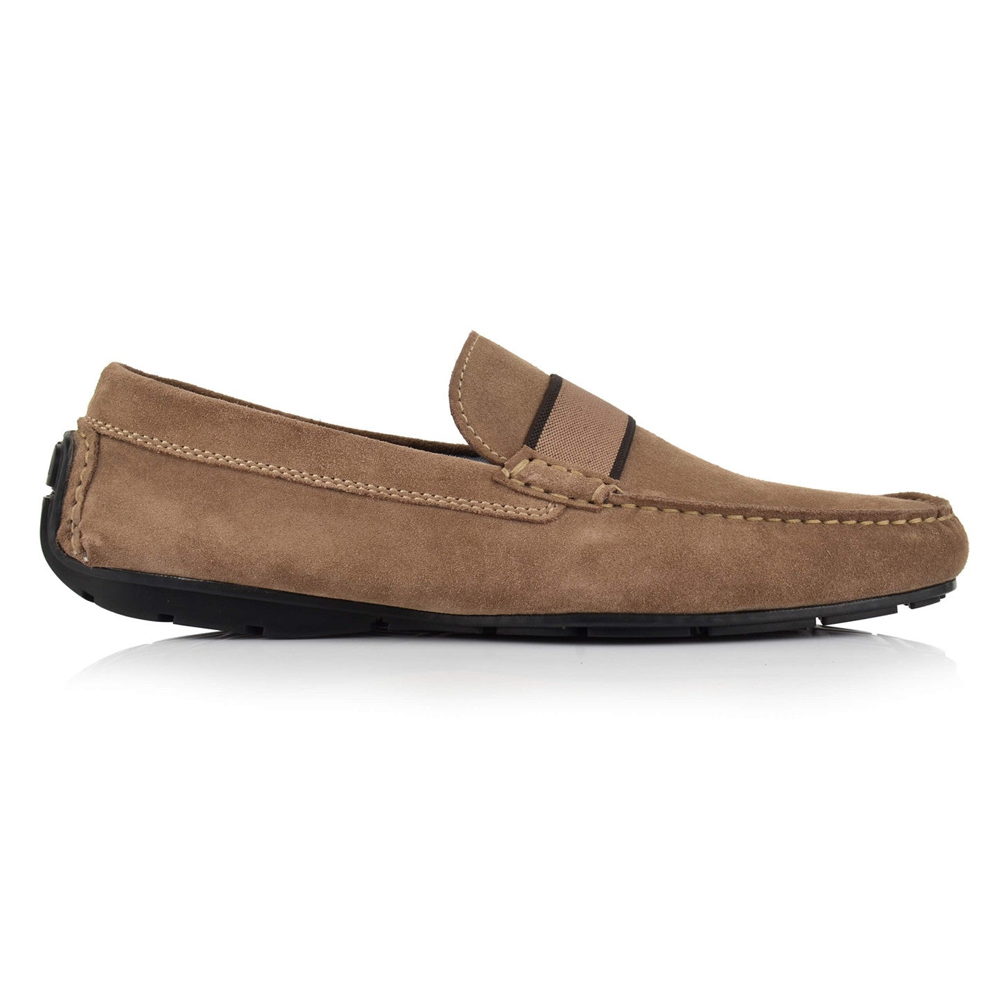 LM501 - Language Baron Men's Casual Brown Drivers