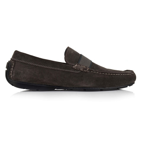 LM501 - Language Baron Men's Casual Grey Drivers