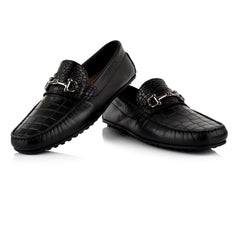 LM590 - Language Tian Men's Casuals Black Drivers