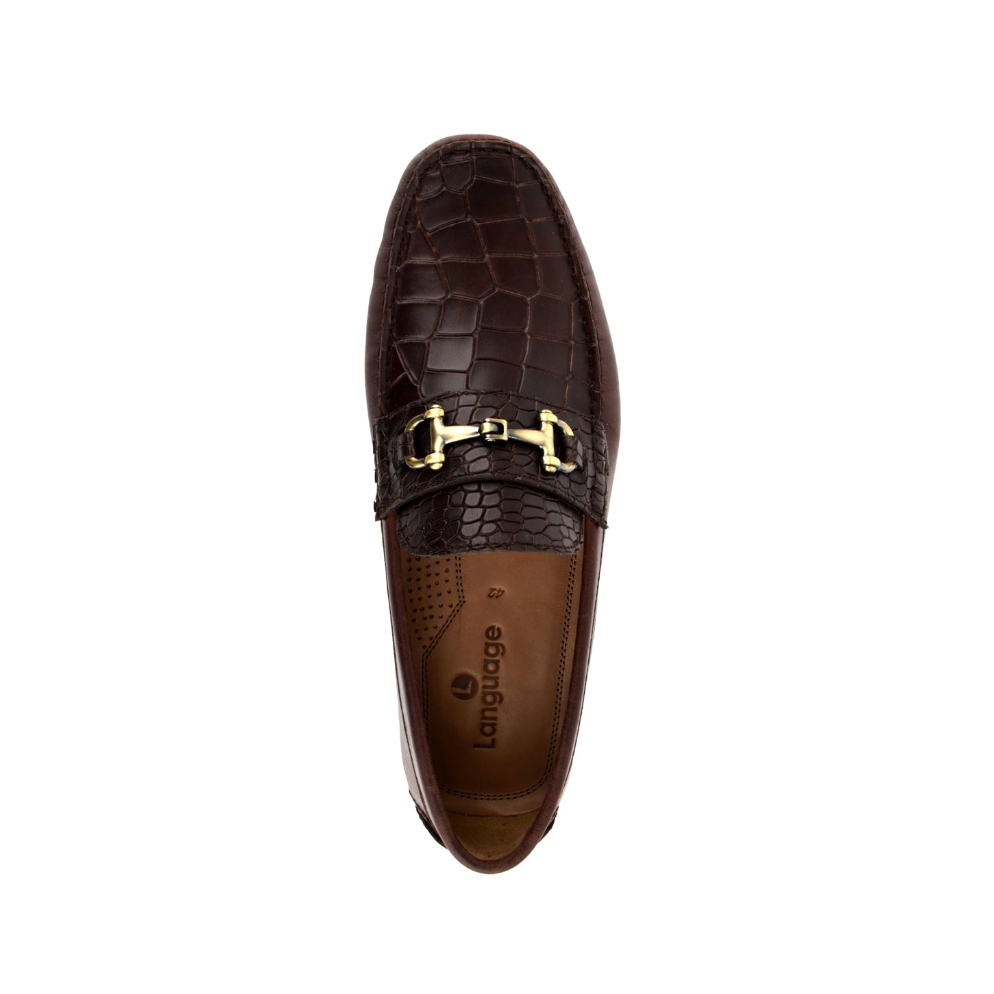 LM590 - Language Tian Men's Casuals Brown Drivers