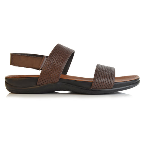 LM802 - Language Jean Men's Coffee Casual Sandals