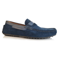 LM810 - Language Kaoli Men's Navy Casual Drivers