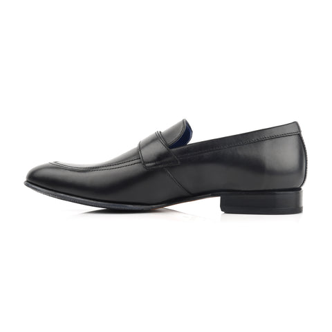LM851 - Language Kevin Men's Black  Dress Loafers