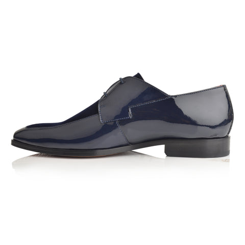 LM862 - Language Negril Men's Navy  Dress Derby