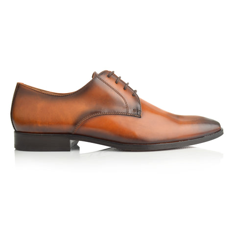 LM868 - Language Seid Men's Tan  Dress Loafers
