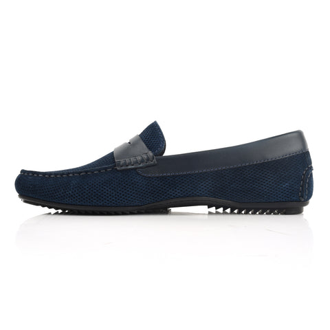 LM920 - Language Gaya Men's Navy  Casuals Moccasin