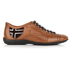 LM700 - Language Men's Fari Brown Casual Sneakers