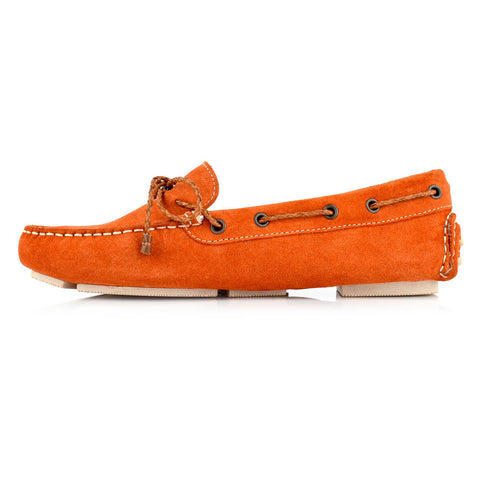 LW031 - Language Rome Women's Casual Orange Drivers