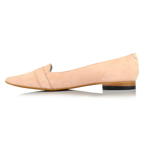 LW091 - Language Liverpool Women's Casual Nude Loafers