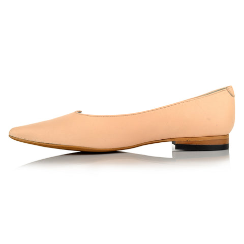 LW094 - Language Cambridge Women's Casual Nude Ballerinas