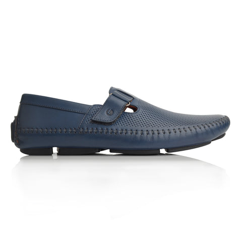 Lm065 Language Dwayne Men's Blue Casual Loafers