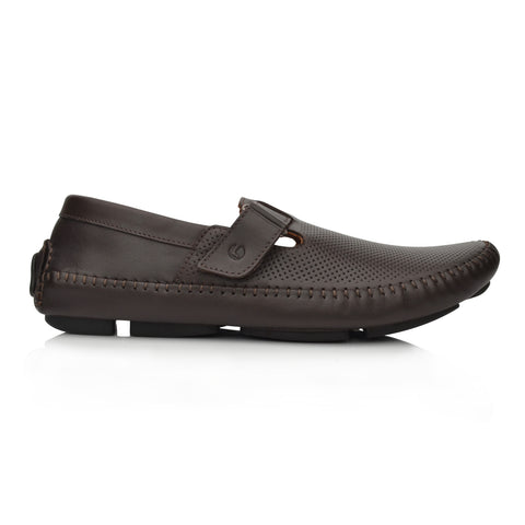Lm065 Language Dwayne Men's Brown Casual Loafers