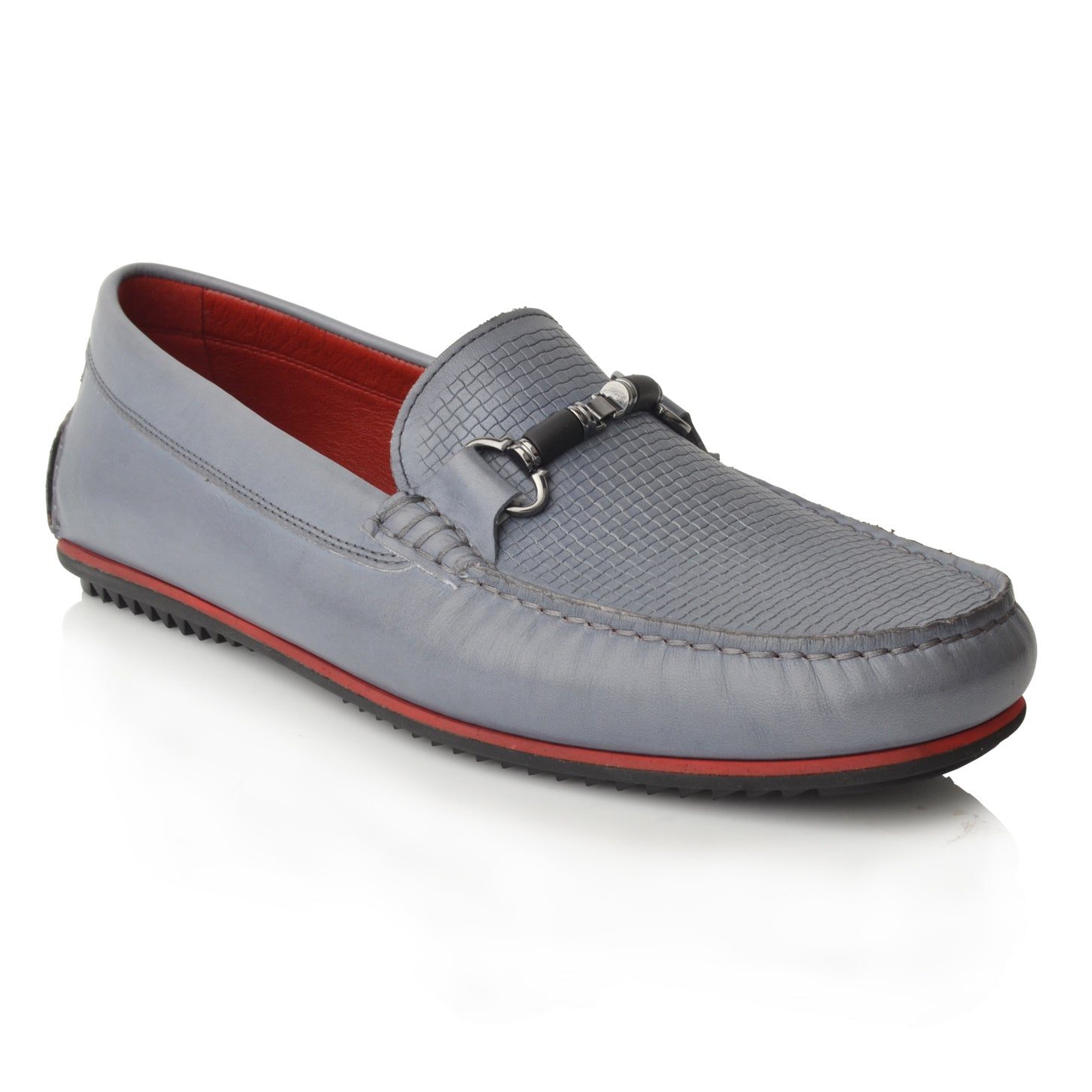Lm1050 Language Jason  Men's Blue Casual Loafers
