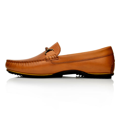 Lm1050 Language Jason  Men's Tan Casual Loafers