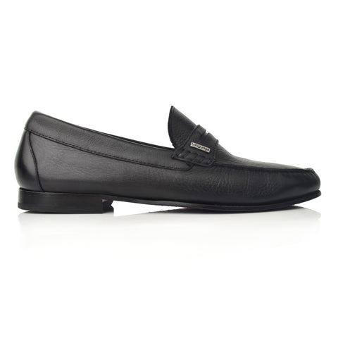 Lm961 Language Maximo Men's Black Formal Moccasin
