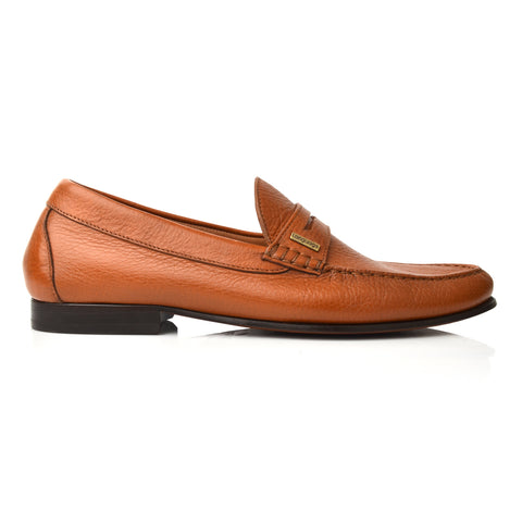 Lm961 Language Maximo Men's Tan Formal Moccasin