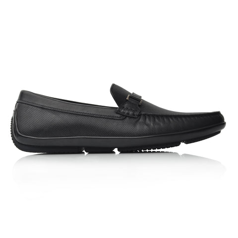 Lm970 Language James Men's Black Casual Loafers
