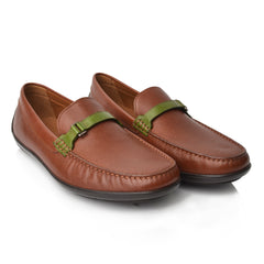 Lm970 Language James Men's Tan Casual Loafers