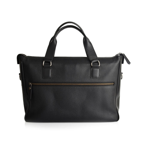 LG011 - Collezioni Mexico Men's Black Briefcase Bag