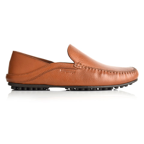 LM595 - Language Men's Aliw Tan Casual Moccasin