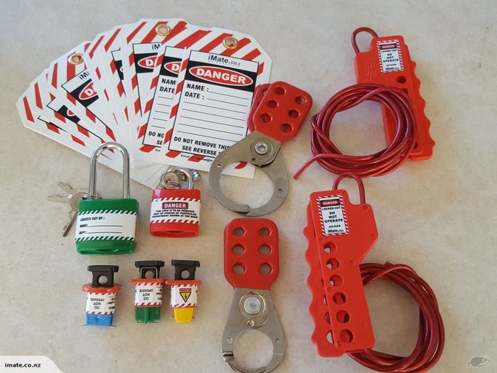 Electrical Lock Out Tag Out Kit!