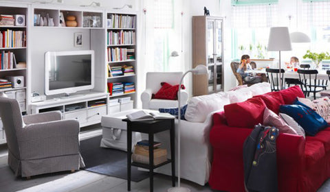 How to Organize Your Living Room & Never Trip Over Another Toy Again ...