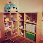 Oak Bookcase for Children's Room
