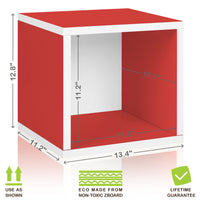 Storage Cube - Red