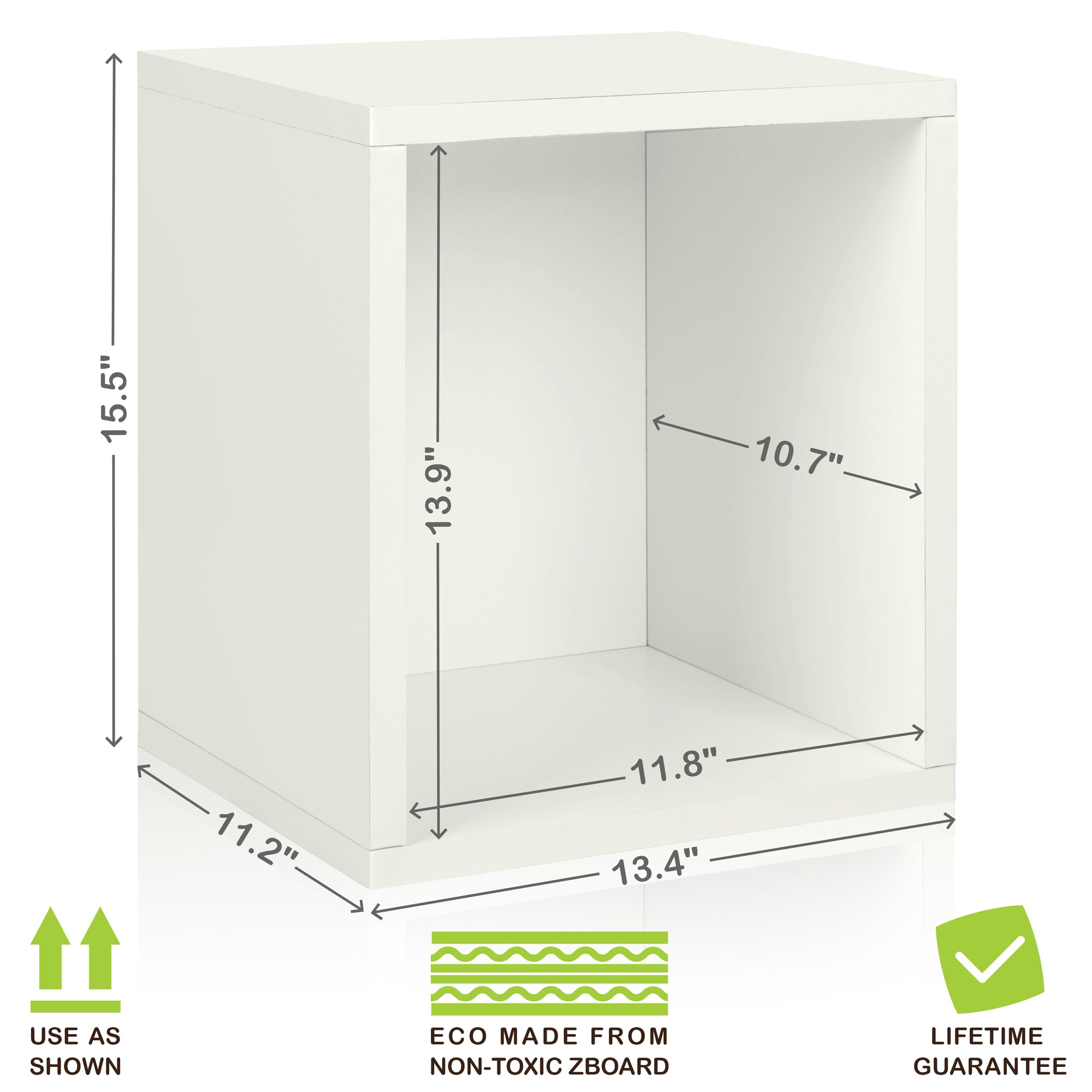 storage cube plus natural white