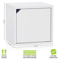 Connect 9 Cube Doors, White (pre-order ships 6/8)