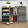 grey bookshelves, grey storage cubes, grey cube storage, grey cubbies, grey cubby storage, grey storage cube, grey cube bookcase, grey stackable storage cubes,
