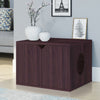 Side Entry Cat Litter Box, Espresso (Pre-order ships 7/1)