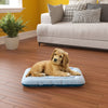 Pup Pup Kitty Cushy Orthopedic Breatheable Pet Mat with NoFom cushion technology Extra Small, Blue