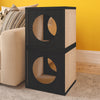 Cat Cube Scratcher, Black (pre-order ships 3/1)