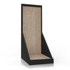 Vertical Cat Scratcher, Black (pre-order ships 2/4)