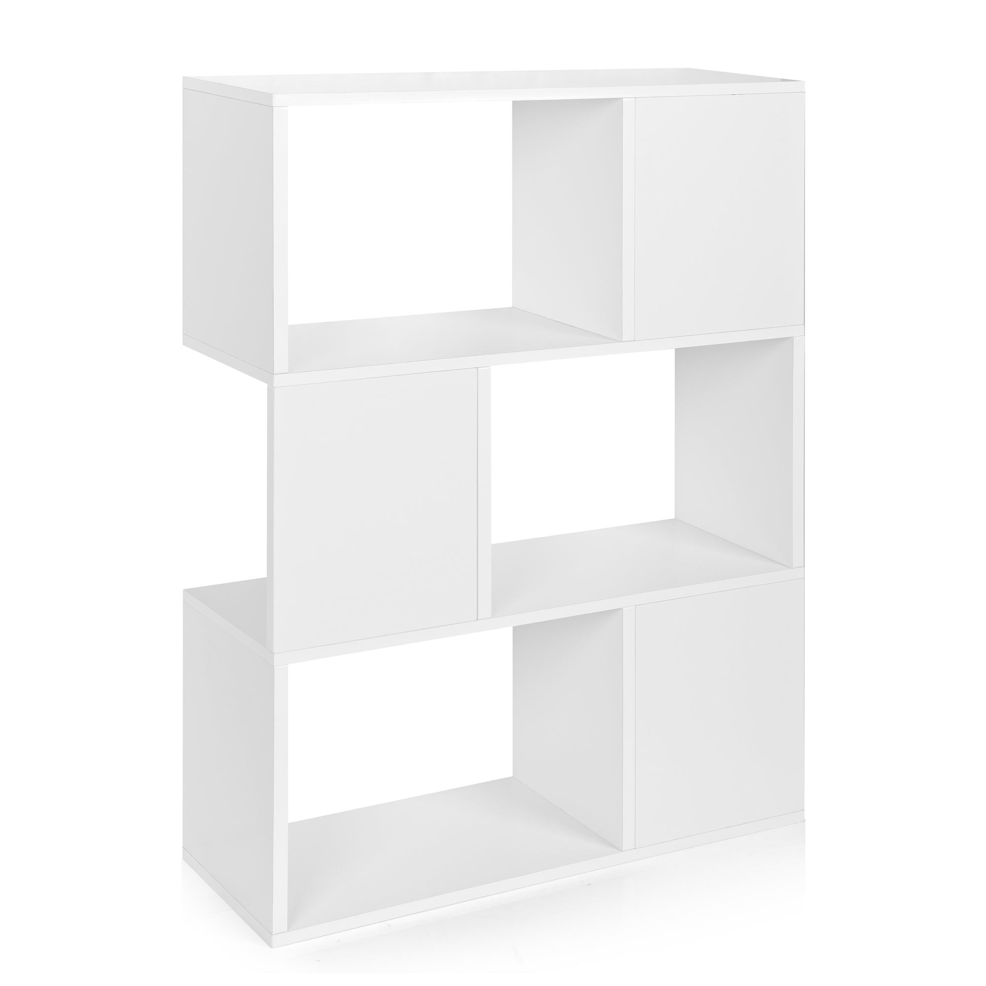the home pogo depot white kids bookcase sauder storage twin p bookcases footboard soft concepts