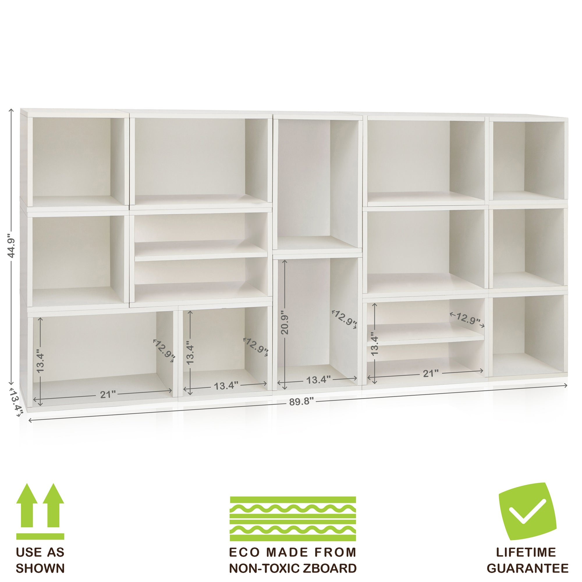 Surprising White Stackable Cube Storage And Modular Wall Storage Shelf Download Free Architecture Designs Rallybritishbridgeorg