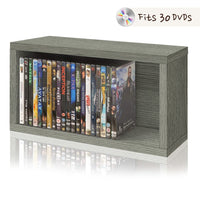DVD / Game Storage Rack, Grey (pre-order ships 5/3)