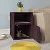 Cat Litter Box Duplex, Espresso