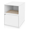 Cat Litter Box Duplex, White (pre-order ships 2/8)