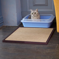 espresso cat litter mat, espresso eco cat litter mat, espresso cat litter box mat