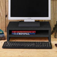 black computer riser, black monitor stand, black desktop monitor stand, black pc monitor stand, black computer screen stand, black monitor shelf, black desk monitor stand, black monitor holder, black monitor desk stand, black monitor arm, black monitor mount