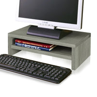 grey computer riser, grey monitor stand, grey desktop monitor stand, grey pc monitor stand, grey computer screen stand, grey monitor shelf, grey desk monitor stand, grey monitor holder, grey monitor desk stand, grey monitor arm, grey monitor mount