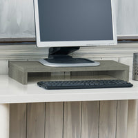 grey monitor stand, grey monitor rise, grey display riser, grey display stand, grey computer riser, grey computer stand