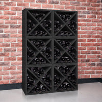 black wine cube, black wine rack, black wine storage, black stackable wine cube, black wine cubes, black wine cube storage, black wine rack cube, black modular wine storage, black modular wine cubes