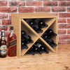 natural wine cube, natural wine rack, natural wine storage, natural stackable wine cube, natural wine cubes, natural wine cube storage, natural wine rack cube, natural modular wine storage, natural modular wine cubes